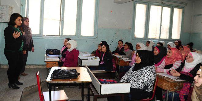 Сирийские учителя полны решимости исполнить свой долг и нести свет знаний
