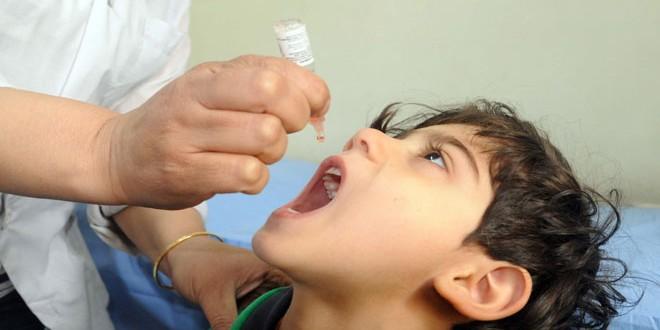 В Сирии стартовал очередной этап кампании вакцинации против полиомиелита