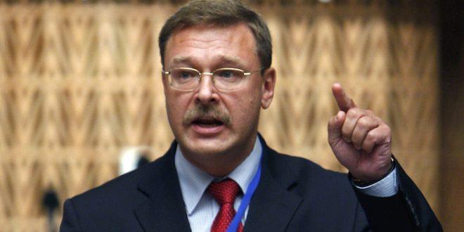 Косачев: США и их союзники поддерживают террористов в САР