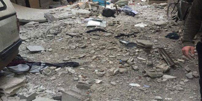 Бандформирования продолжают обстрелы жилых кварталов Дамаска и столичных пригородов