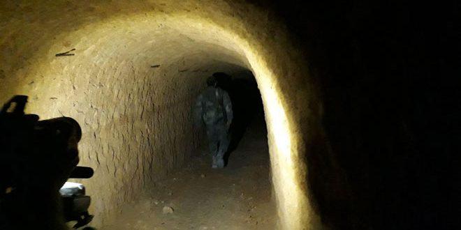 Вблизи Айн-Терма обнаружена ещё одна сеть подземных тоннелей террористов