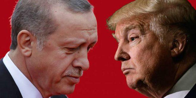 Эрдоган заявил об угрозе Турции со стороны США