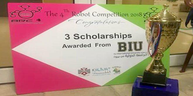 Сирия завоевала первое место на конкурсе сумо-роботов в Бейруте