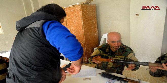 В Ар-Рхейбе урегулировано правовое положение многих боевиков