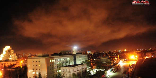 Сирийские ПВО противостояли агрессии США, Великобритании и Франции