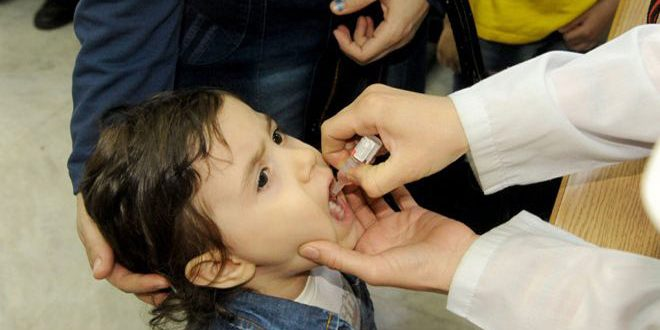 В Сирии стартовала кампания вакцинации против полиомиелита