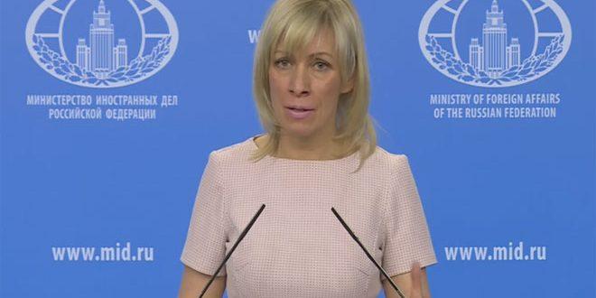 Захарова: Угроза со стороны США применить силу против Сирии – это грубое нарушение Устава ООН