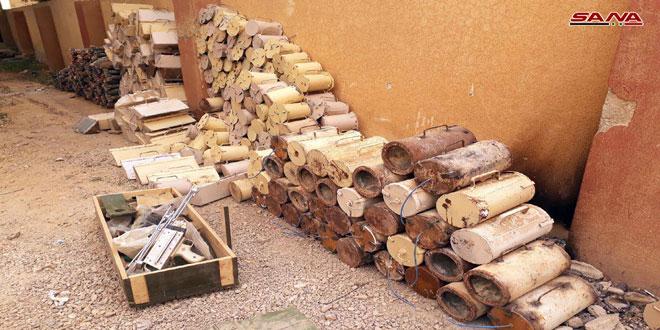 В Ар-Рхейбе обнаружены десятки взрывных устройств