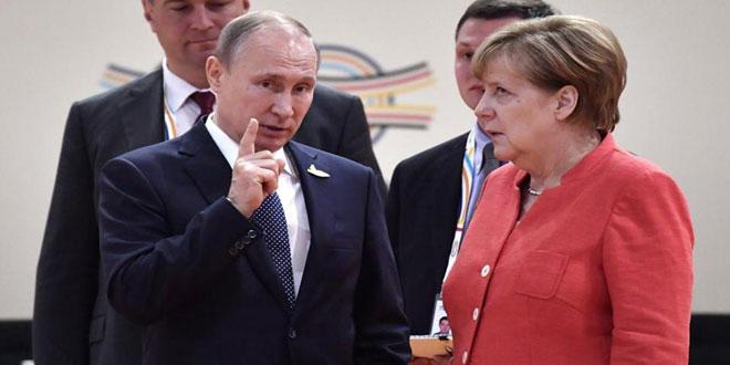 Путин и Меркель обсудили ситуацию в Сирии и ядерное соглашение с Ираном