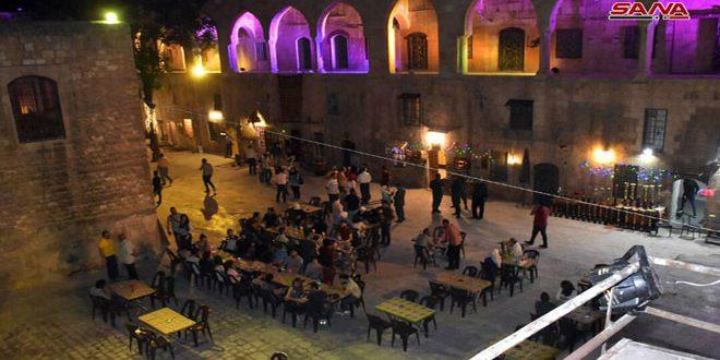 В Алеппо стартовал фестиваль «Алеппский Рамадан красивее»