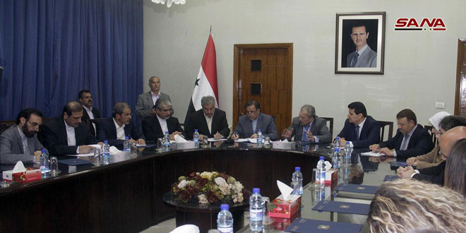 Сирия и Иран обсуждают сотрудничество в секторе строительства на этапе восстановления