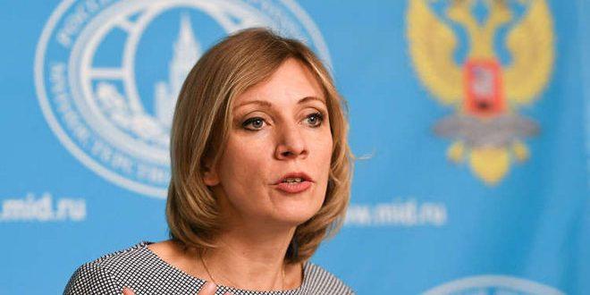 Захарова: Иностранное присутствие в Сирии препятствует политическому урегулированию кризиса