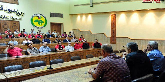Сборная Сирии завершила подготовку к участию в Средиземноморских играх