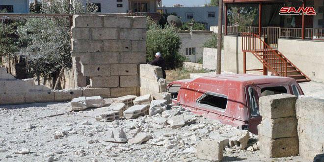 Бандформирования «Джебхат Ан-Нусры» обстреливают жилые кварталы в Дараа и Сувейде. Погиб ребёнок и ранен мужчина