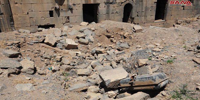 Дворец Зейн Аль-Абидин в Энхеле — еще одно свидетельство разрушительной идеологии террористических группировок