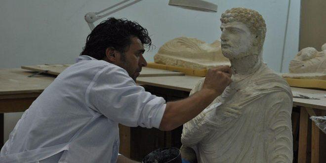 Посетители Национального музея Дамаска скоро смогут увидеть отреставрированные скульптуры Пальмиры