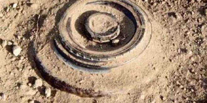 В провинции Хомс от взрыва мины, оставленной террористами, погиб мирный житель