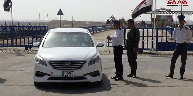 Возобновлена работа КПП «Насиб» на сирийско-иорданской границе