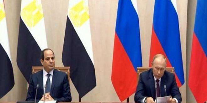 Россия и Египет усилят координацию по политическому урегулированию в Сирии
