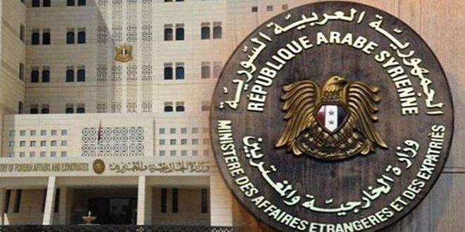 МИД САР: Цели авиаударов «международной коалиции» совпадают с целями израильских атак - Сирийское арабское информационное агентство САНА