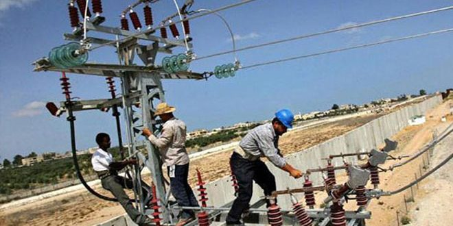 В провинции Хама продолжаются работы по восстановлению электросетей