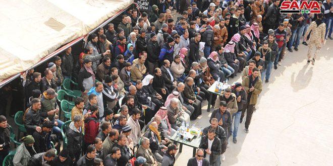 В провинции Дараа урегулирован правовой статус 350 человек
