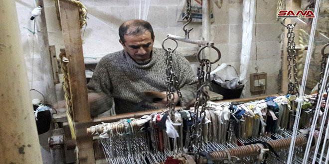 Провинция Хама имеет долгую историю производства ковров ручной работы