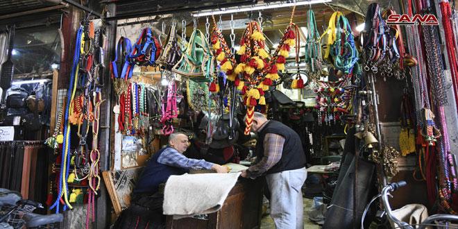 Рынок Аль-Саруджия – одна из старинных дамасских достопримечательностей
