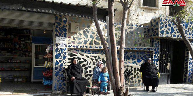 В квартале Аль-Халидия города Хомс постепенно восстанавливается жизнь