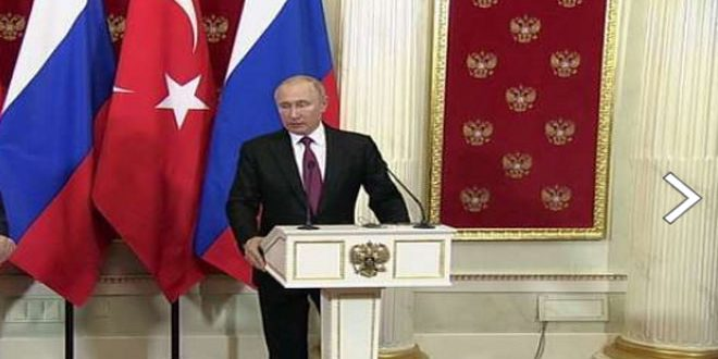 Путин: Борьба с террористами в Сирии будет продолжена