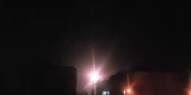 Сирийские средства ПВО противостояли ракетной атаке Израиля - Сирийское арабское информационное агентство САНА