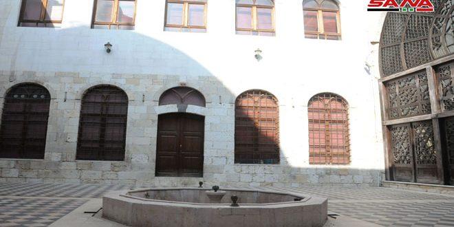 В центре Старого Дамаска находится библиотека Аз-Захирия – историческое наследие города