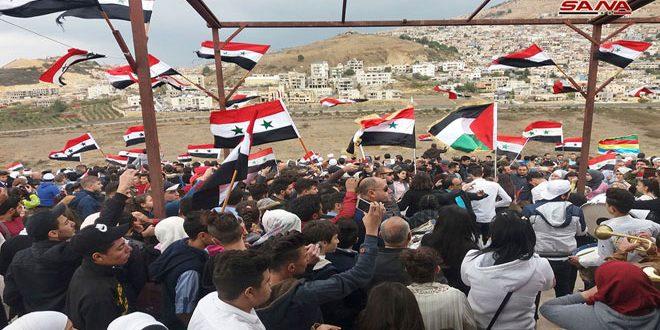 Сирийские студенты: Голаны – оккупированная территория САР