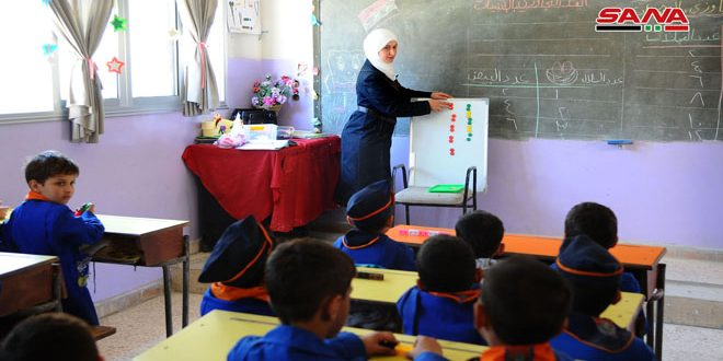 Учителя Восточной Гуты, как и другие сирийские учителя, стойко противостояли терроризму