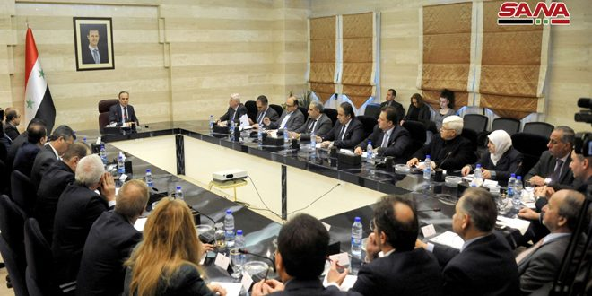 В Дамаске прошло совещание по вопросам развития промышленности в САР