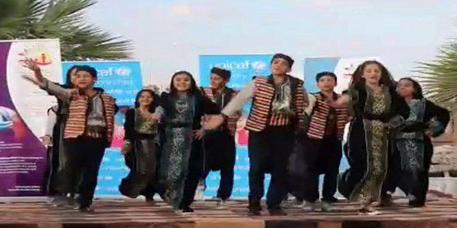 В Дейр-эз-Зоре проводился фестиваль «Детская весна»