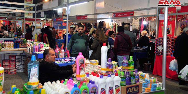 В Дамаске проходит 86-я промышленная ярмарка «Сделано в Сирии»