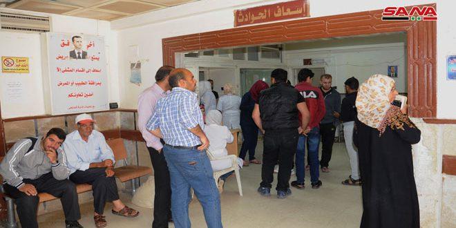 В больнице города Дараа ежедневно оказывается около 400 бесплатных услуг