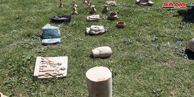 В провинции Хама обнаружены артефакты, подготовленные для вывоза из страны
