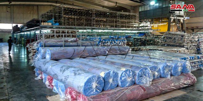 В промзоне «Шейх-Наджар» в Алеппо работает 565 восстановленных предприятий