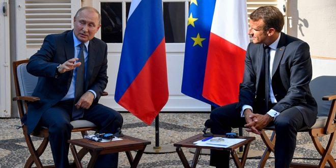 Путин: Россия поддерживает усилия армии Сирии в борьбе с терроризмом