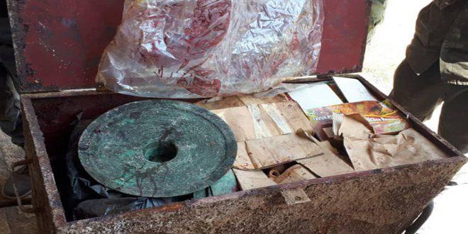 В Афамии извлечено более 300 артефактов, спрятанных от террористических организаций