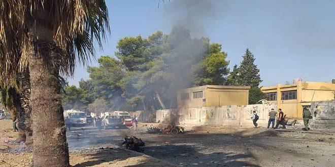 В городе Эль-Камышлы провинции Хасаке прогремел взрыв, есть пострадавшие