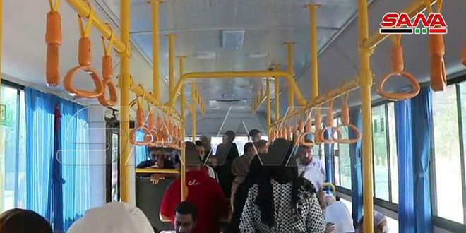 В Дейр-эз-Зоре заработал общественный транспорт