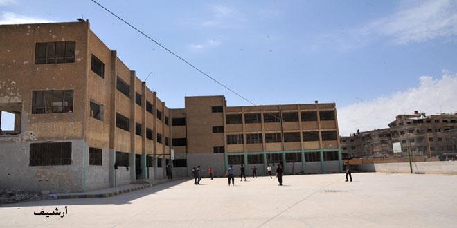 В провинции Дамаск все готово к началу нового учебного года 2019-2020