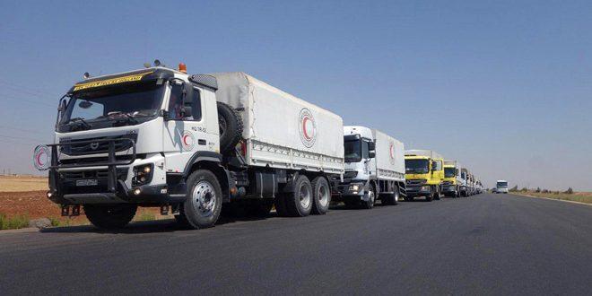 В провинцию Дараа вновь доставлена гумпомощь