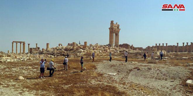 После освобождения от терроризма Пальмира вновь привлекает иностранных туристов