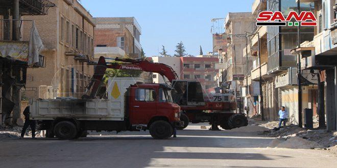 В городе Дараа открываются новые магазины