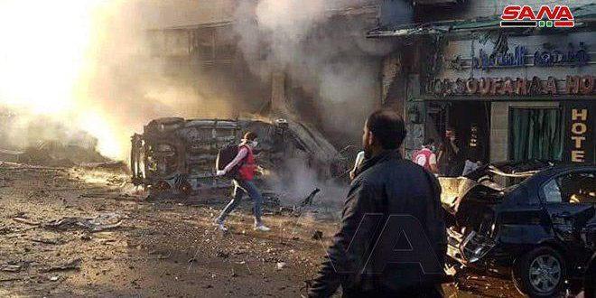 В городе Эль-Камышлы в результате терактов 7 человек погибли и еще 70 пострадали