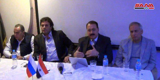 Члены сирийской общины в России вновь подтвердили свою поддержку Родины